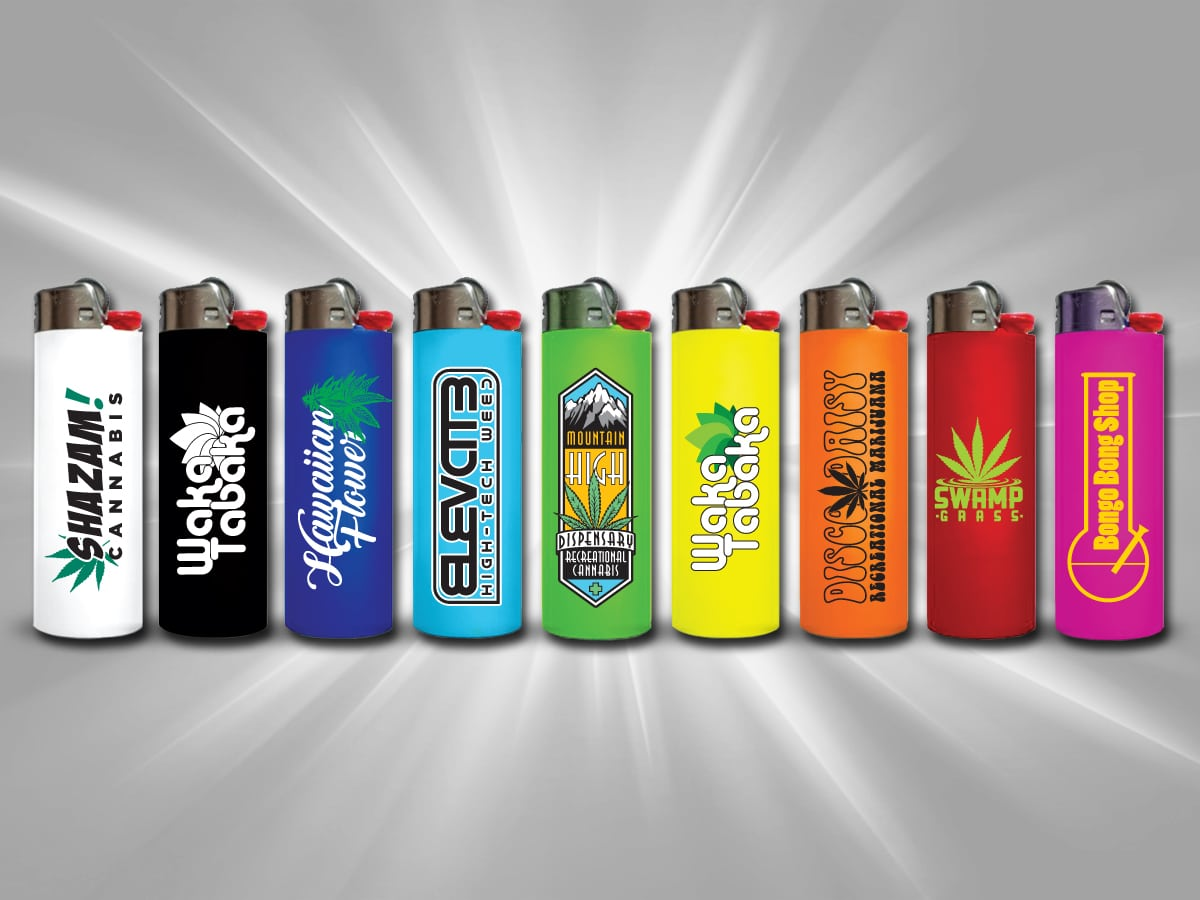 Custom BIC Lighters Custom Printed Lighters Design
