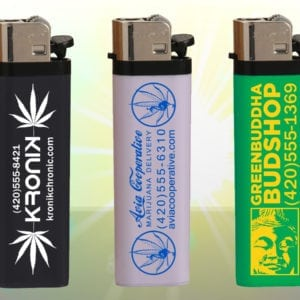 Custom Lighters - 3 Examples - GanjaPrint