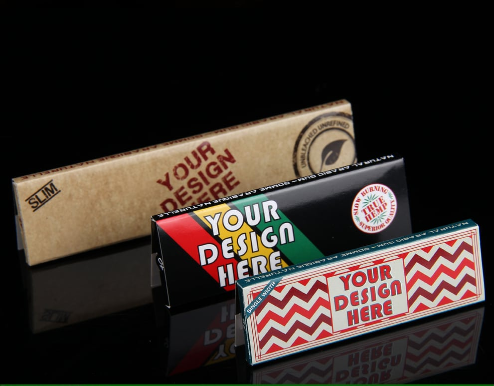 custom printed rolling papers Roll your own paperscom: manufacturers of custom (oem we are a factory, manufacturing custom cigarette rolling papers starting at a 150 booklet low minimum.