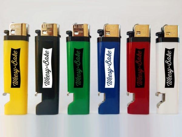 Solid Bottle Opener Lighters Custom Logo
